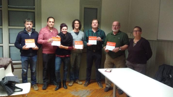 Lliurament de plaques a entitats federades de la Catalunya Central