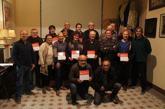 Lliurament de plaques a entitats federades al Maresme i Vallesos