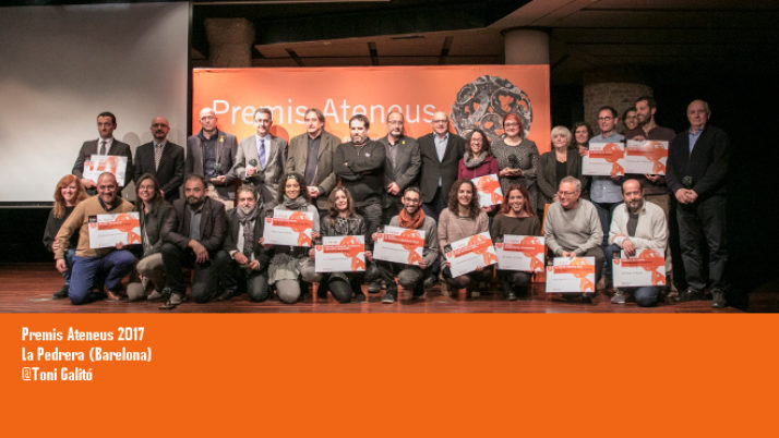 La Pedrera acull els Premis Ateneus 2017