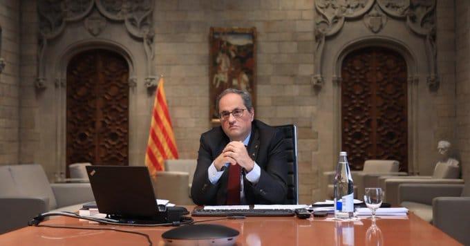 La Federació d'Ateneus de Catalunya rebutja la sentència inhabilitatòria al president de la Generalitat, Quim Torra