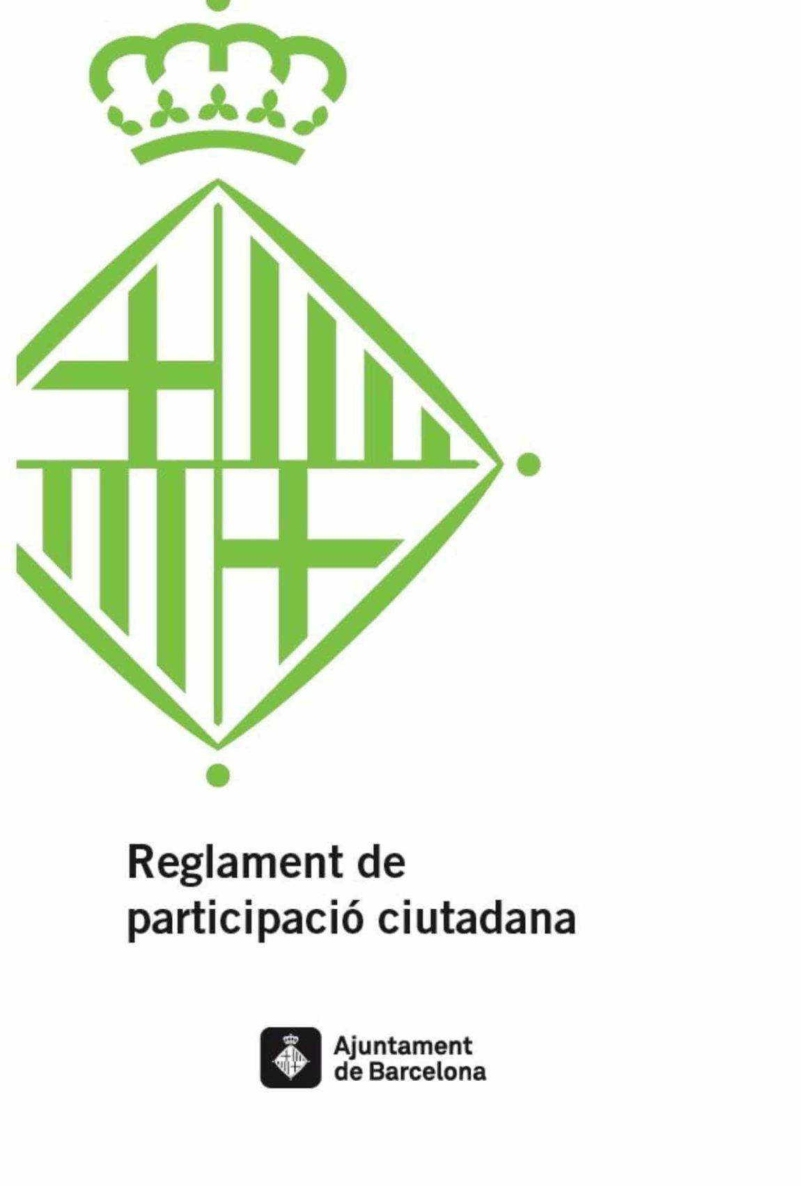 Es publica el manifest en defensa del Reglament de Participació Ciutadana de Barcelona