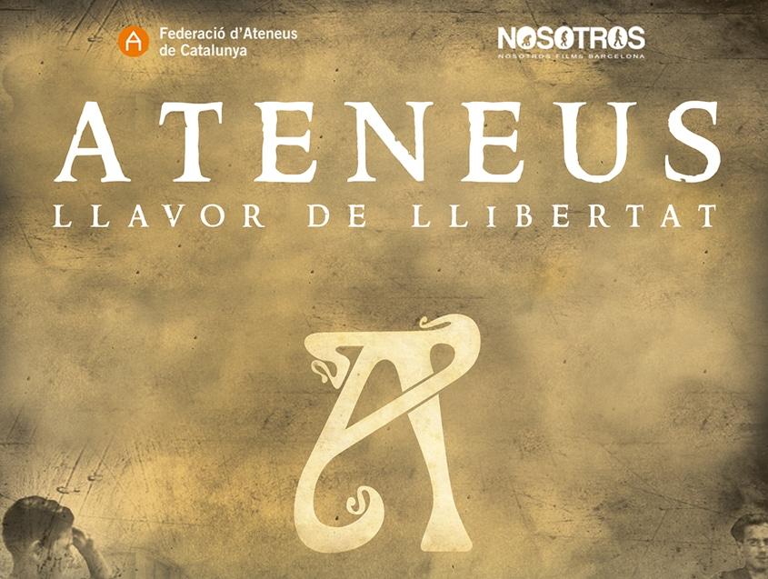 """Ja podeu veure el cinefòrum amb els creadors d""""Ateneus: llavor de llibertat'"""