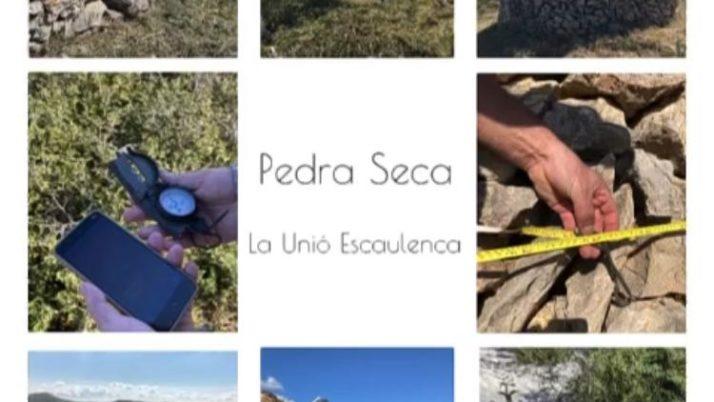 La Unió Escaulenca ens presenta dues propostes: un inventari de pedra seca i un col.loqui amb l'autor Francesc Serès