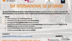 Celebració del Dia Internacional de la Dansa 2021