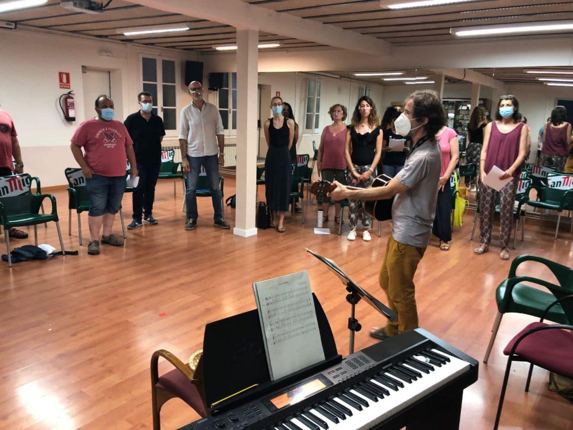 Comencen els assajos al Coro de Sentmenat de 'Orígens', la darrera Residència Artística de la FAC