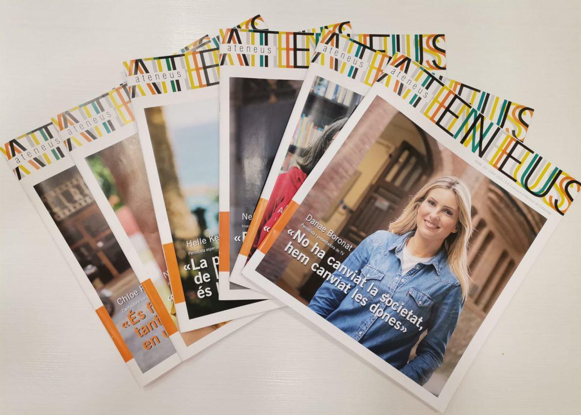 La Revista Ateneus a la Setmana del Llibre en Català