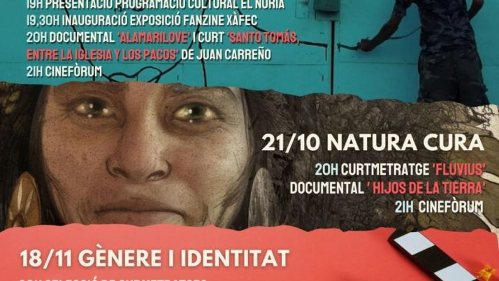 El Núria Social presenta el cicle de cinema social L'ULL VIU