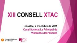 El XIII Consell XTAC se celebra el dia 2 d'octubre al Casal Societat La Principal