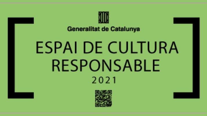 El Departament de Cultura de la Generalitat de Catalunya ha atorgat al Centre Catòlic de Sants el distintiu d'Espai de Cultura Responsable