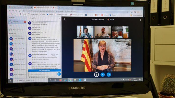 La FAC celebra la primera Assemblea General telemàtica de la història aprovant el nou Pla Estratègic