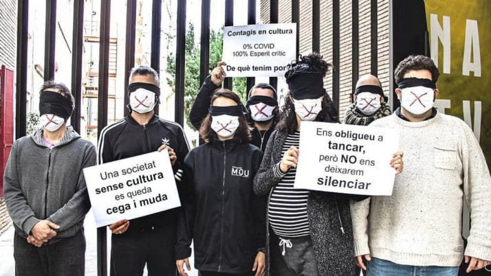 """Comença la campanya """"Sense Cultura"""" a Instagram per reivindicar que la cultura és segura"""