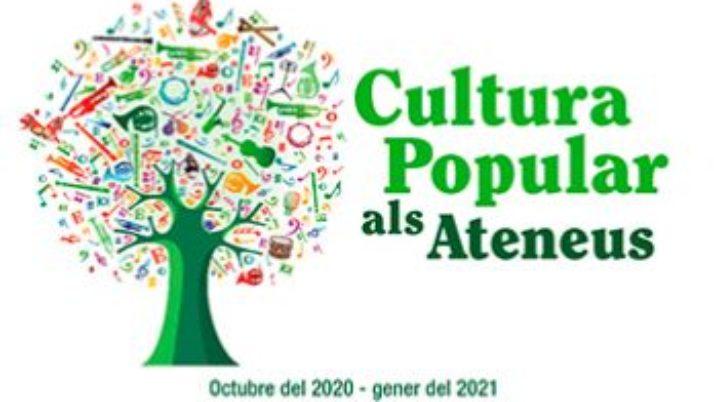 Aquesta tardor torna el Cicle de Cultura Popular als Ateneus! Consulta el programa!
