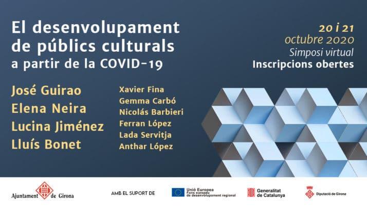 Simposi virtual – El desenvolupament de públics culturals a partir de la COVID-19