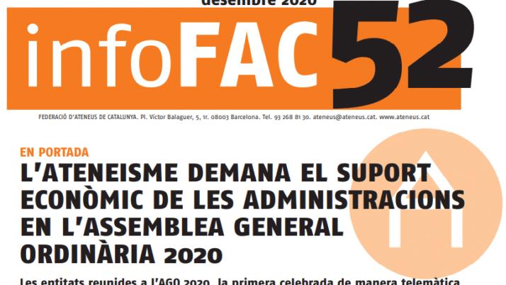 L'edició 52 de l' Infofac ha estat publicada, consulteu-la aquí!