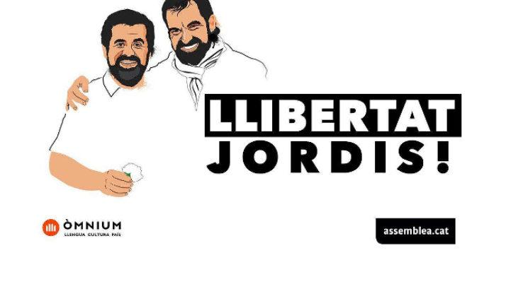 Suport a Jordi Sánchez i Jordi Cuixart