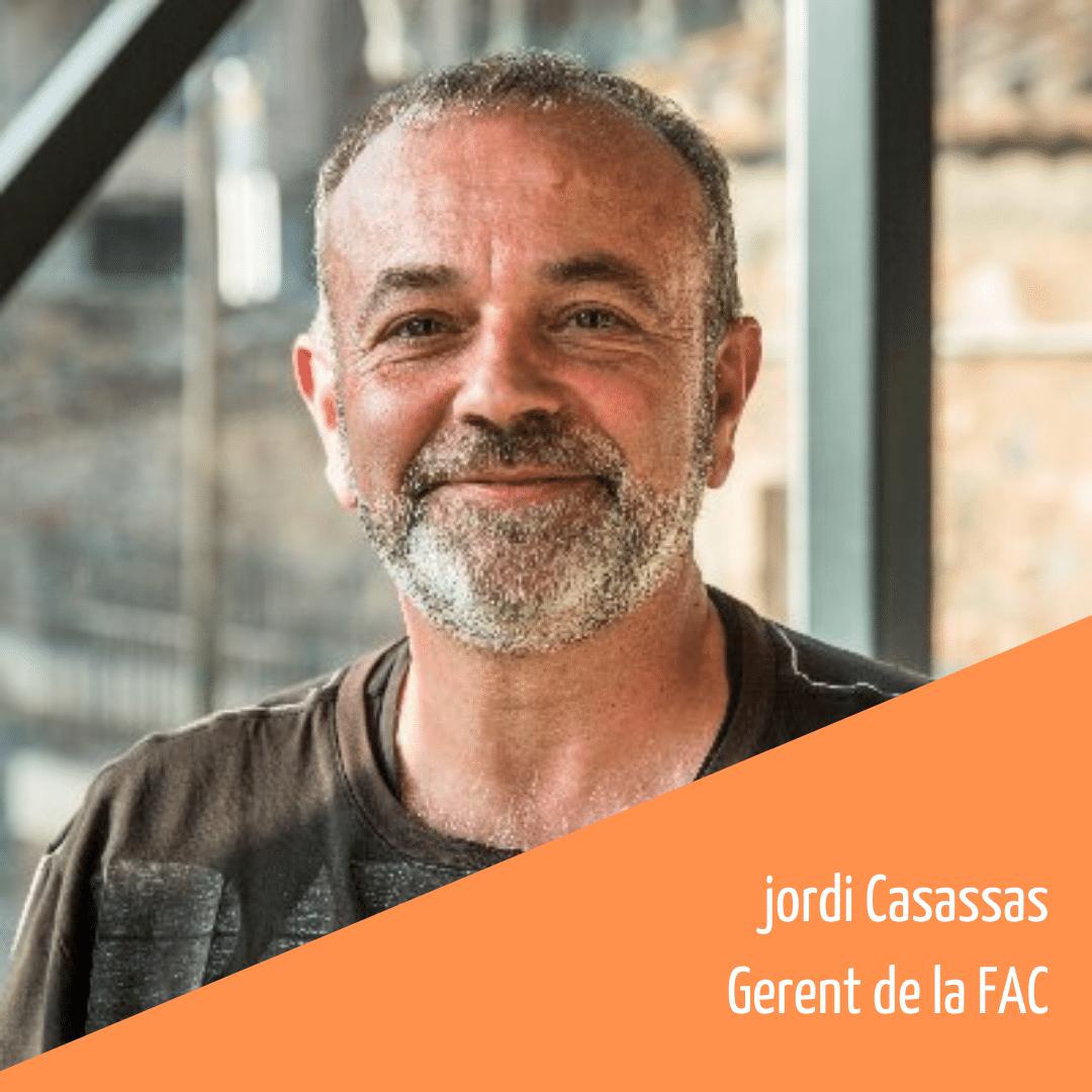 Coneix l'equip humà de la FAC: Jordi Casassas, Gerent de la FAC