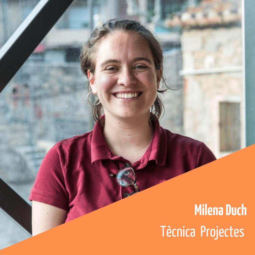Coneix l'equip de la FAC: Milena Duch, tècnica de projectes