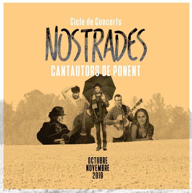 La DT de Ponent estrena el cicle 'Nostrades', una aposta molt ambiciosa de concerts amb cantautors de km0 de la demarcació lleidatana
