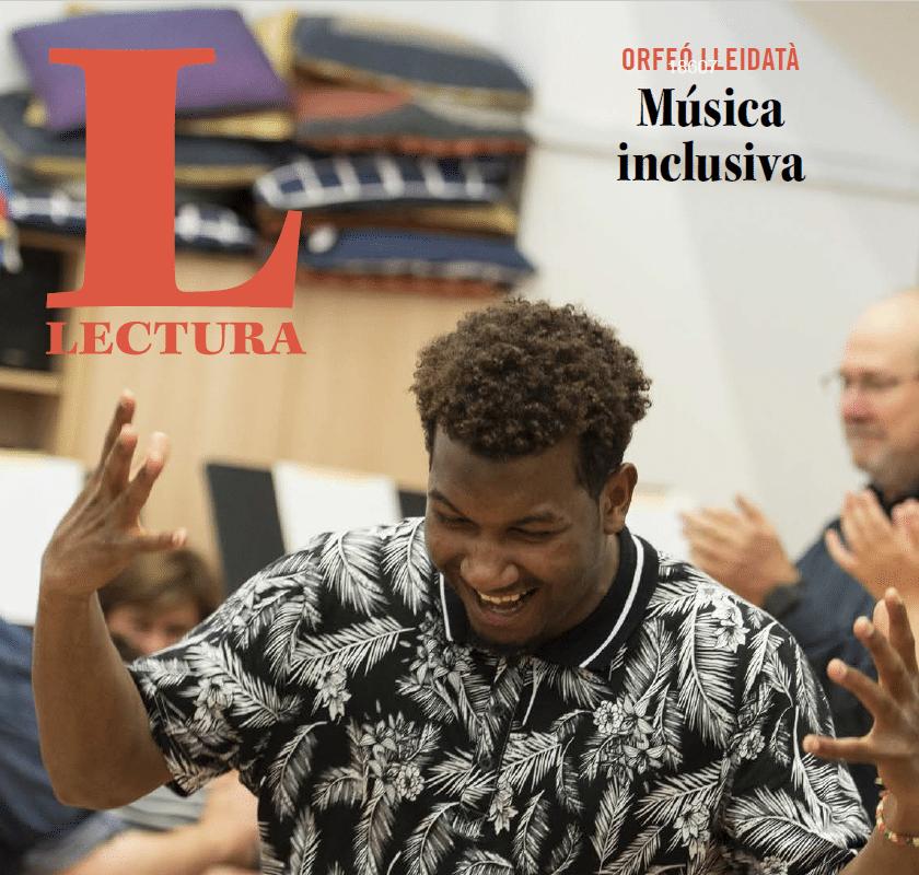 El diari Segre dedica el suplement dominical als 20 anys de projectes socials de l'Orfeó Lleidatà