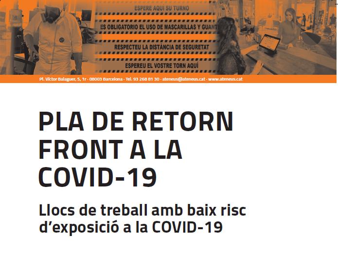 La FAC publica el Pla de Retorn front a la Covid-19 pels ateneus