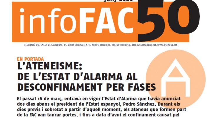 La FAC edita l'nfoFAC 50 en format digital