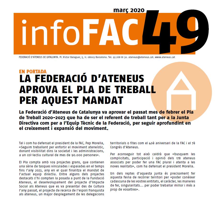 L'InfoFAC 49 ja està disponible