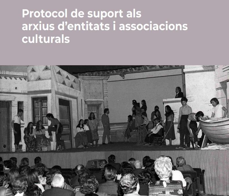 Cultura publica un protocol de suport als arxius de les associacions culturals